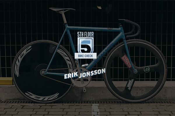 Bike Check: Erik Jonsson's Cannondale Track