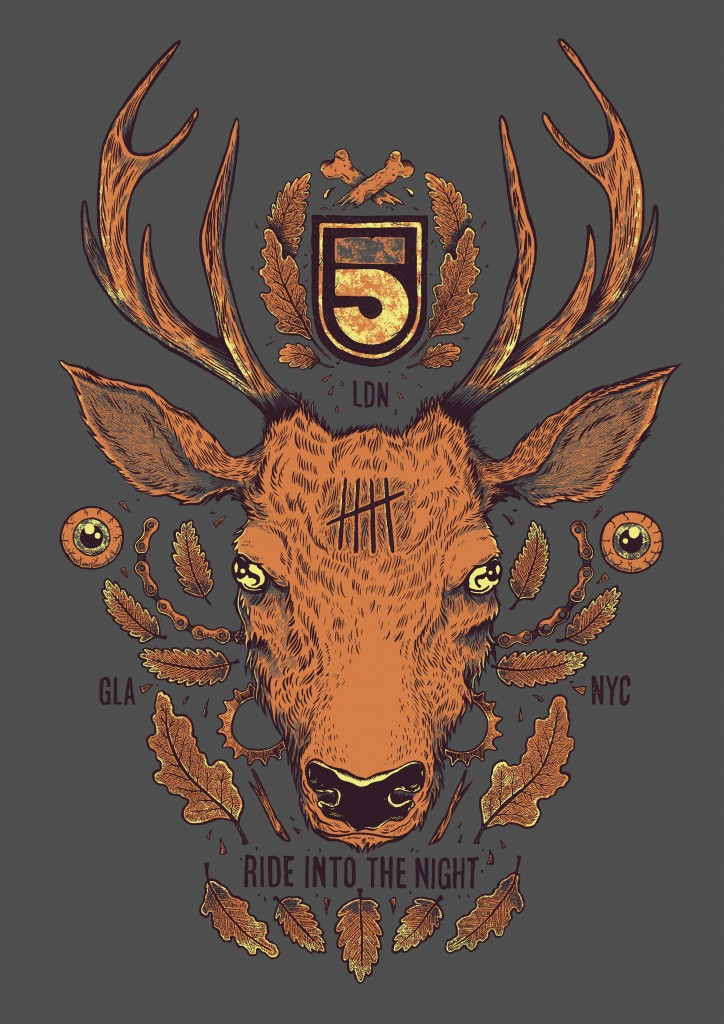 5th Floor Deer print-ready visual