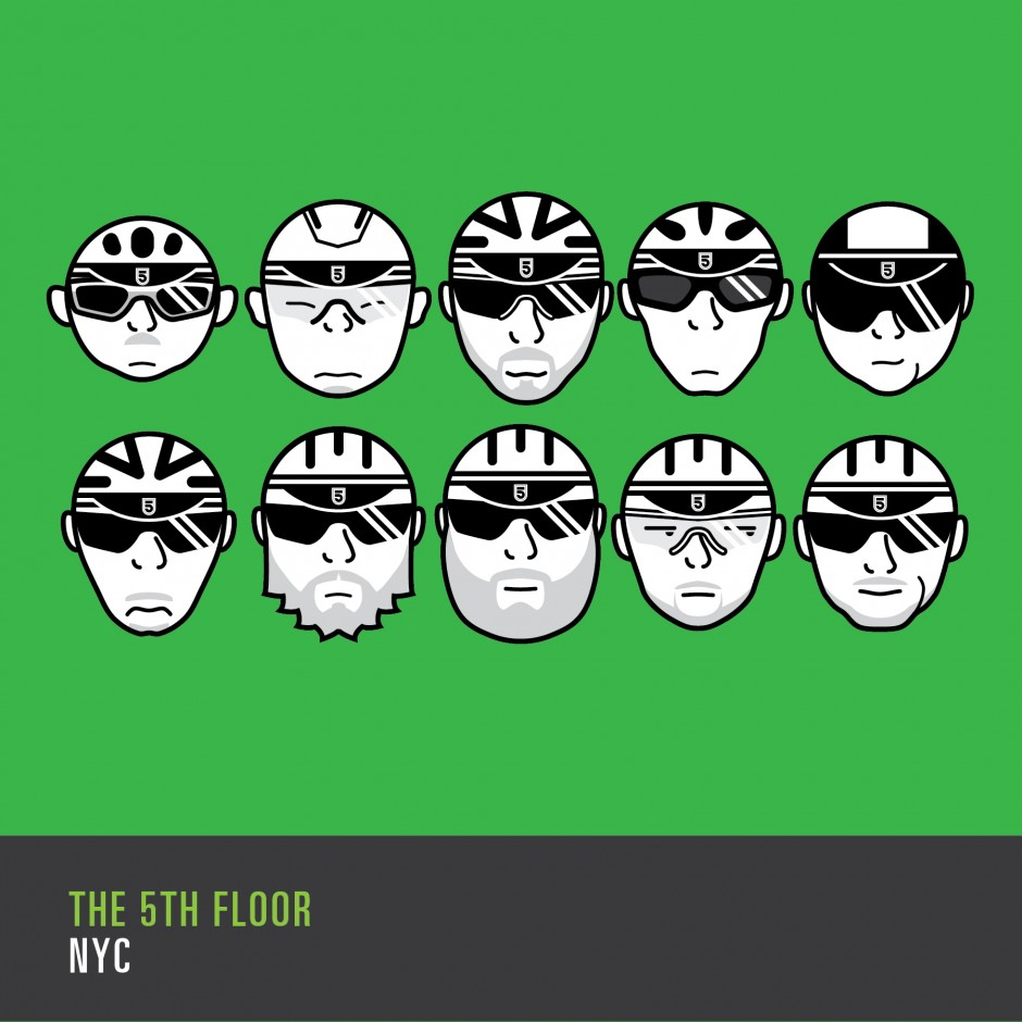 The 5th Floor NYC Team Icons