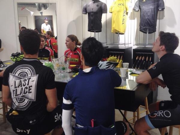 Le Coq Sportif TDF Stage 2 ride