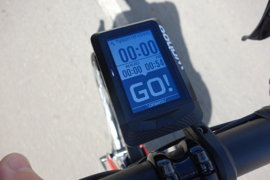 KOM Hunting with the Wahoo ELEMNT